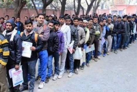 भारत मे बढ़ती कुशल बेरोजगारी, 5 करोड़ लोगों ने खोई अपनी नौकरियां।